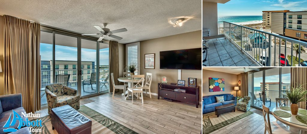 Island Princess Unit 619 Gulf View Condo