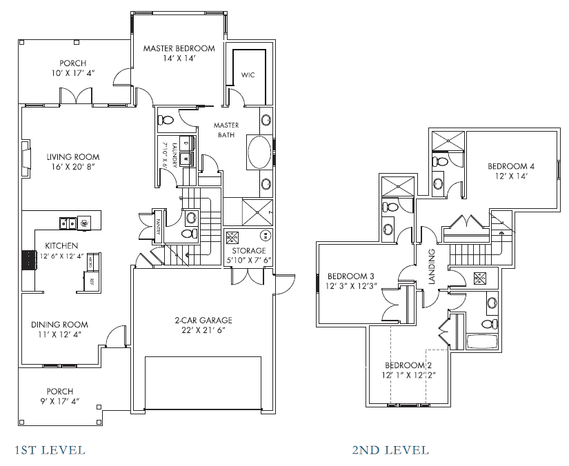 Morningside 4 floorplan